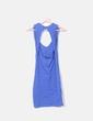 Vestido tricot azul elástico Suiteblanco