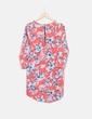 Vestido coral floral Influence