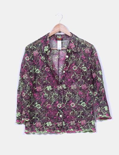 Conjunto de chaqueta y falda  multicolor   Christian Lacroix