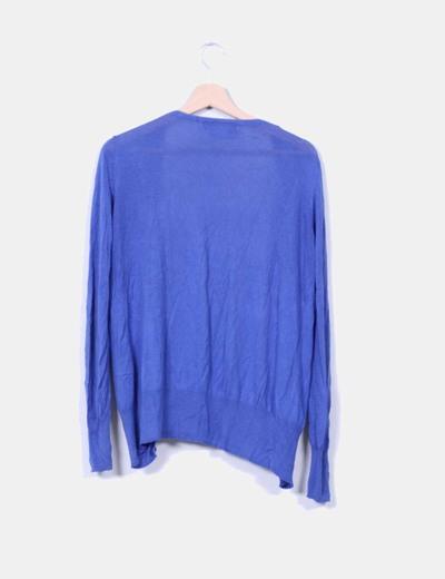 Cardigan azul