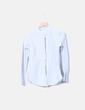 Camisa de rayas con manga larga Massimo Dutti