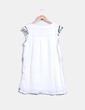 Robe blanc brodée Anany