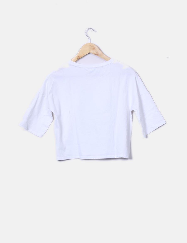 t0Uqw86aq online Camiseta corta manga mujer de Tops Kiabi blanca UUTq8wfx