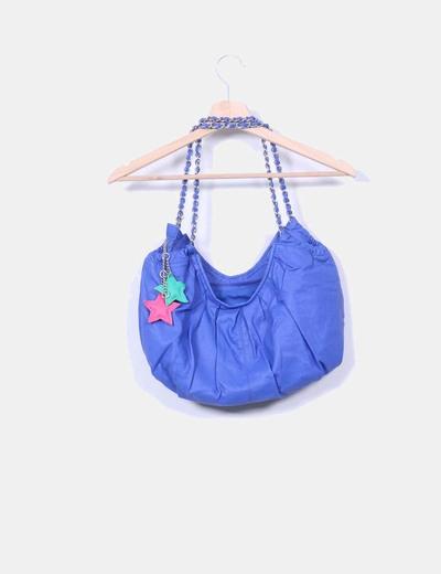Bolso polipiel azul klein
