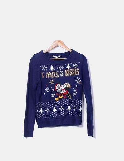 Jersey azul marino Mickey Mouse