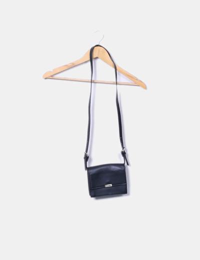 Bolso mini negro Zara