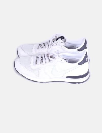Nike Grises Y Blancas