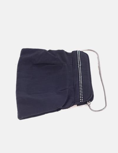 Bolso mini negro con strass