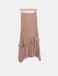 Maxi falda camel NoName