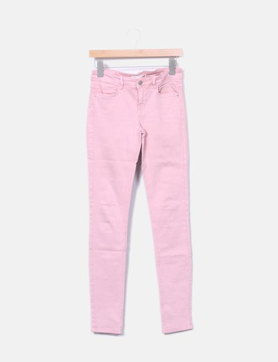 75 Sconto Pantaloni Wxf7qtbhc Micolet Sigaretta Zara A Rosa 6qr68w