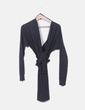 Vestido lana gris NoName