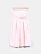 Vestido rosa palo texturizado Pull&Bear