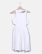 Vestido crudo texturizado Zara