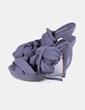 Zapato gris con tiras de tela Marypaz