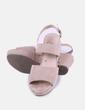 Sandalias beige plataformas Refresh