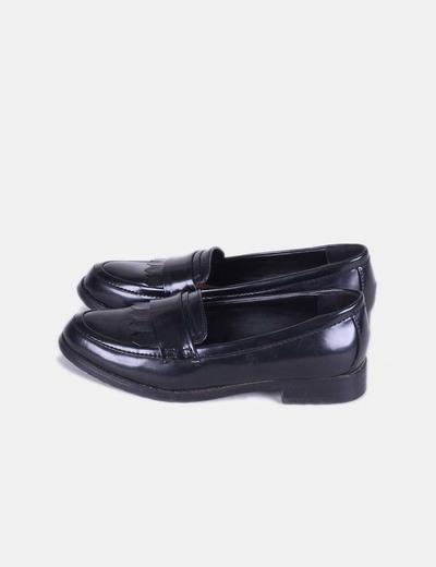 Chaussure noire mocassin Lefties