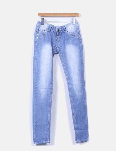 Jeans denim azul claro Miss Rj