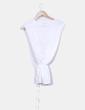 Blusa blanca Massimo Dutti