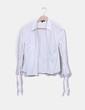 Chemise blanche à fines à rayures Pedro del Hierro