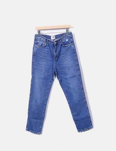 Pantalón denim MOM FIT