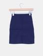 Mini falda ajustada azul marino Pull&Bear