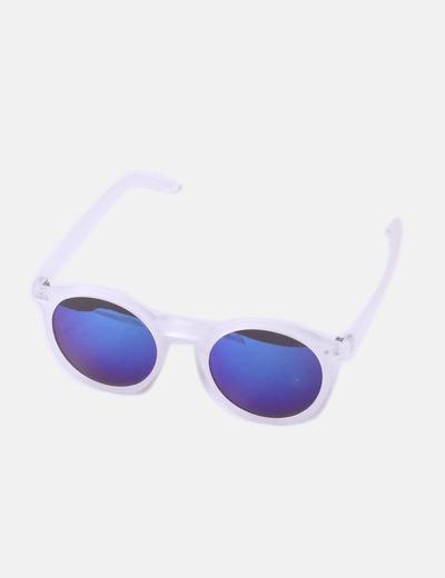 super popular 41e40 03b3e Gafas de sol transparentes lentes azules