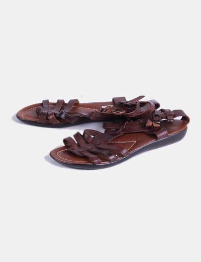 Sandalia romana marrón  Ley Land
