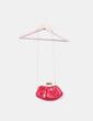 Mini bolso rojo de charol con gran cierre Emilio Faraoni
