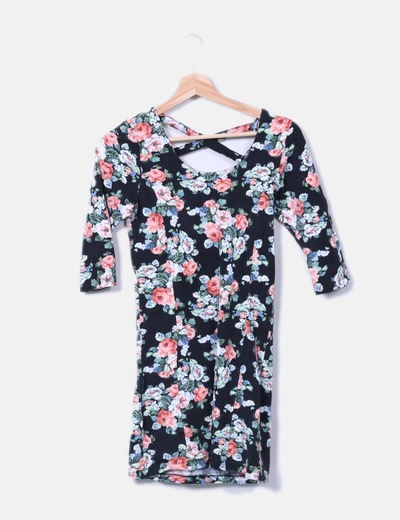 Vestido mini floral Suiteblanco
