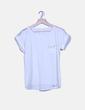 Blusa blanca con tachas Suiteblanco