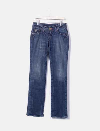 Jeans denim recto Louis