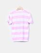 Camiseta bicoilor de rayas print Rusty Neal