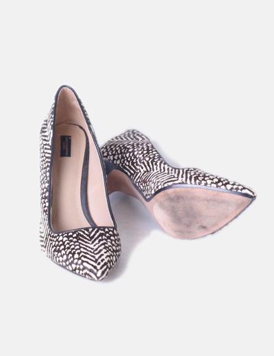 Pelo Y Con Zapato Animal Estampado Salón descuento Zara 75 Print UfqFwvn