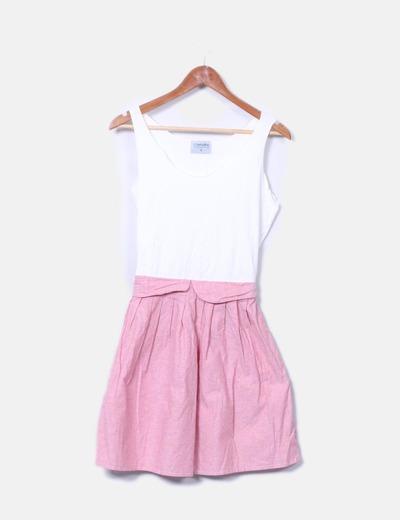 Vestido bicolor Compañía Fantástica
