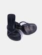 Sandales plate noir -forme CeDosCE