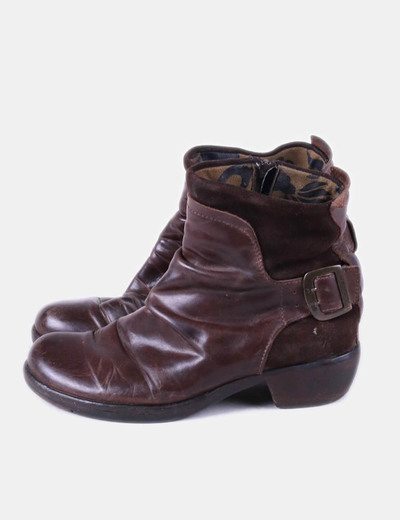 Bottines marron NoName