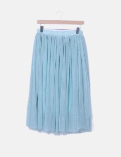 Falda de tul con elástico