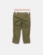 Pantalón verde kaki pirata Bershka