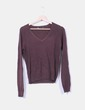 Jersey tricot marrón Zara