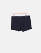 Short negro deportivo Tex Woman