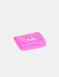 Monedero rosa flúor Bershka