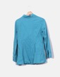 Camisa turquesa manga larga Porta fortuna