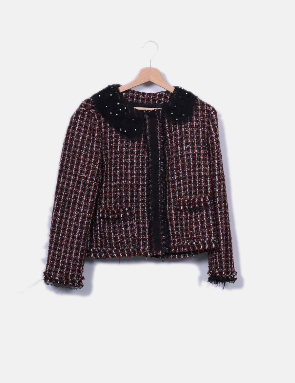 baratos Chaqueta online multicolor de Zara y punto de Abrigos Mujer AAPrqx