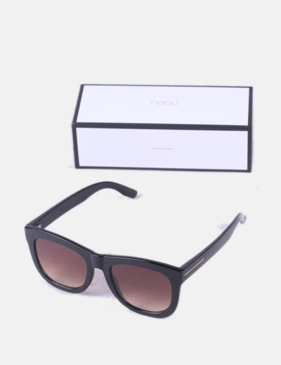Black sunglasses with case Hawkers