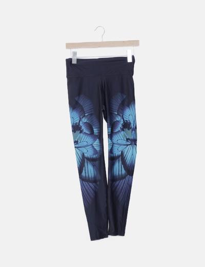 Legging deportivo print floral
