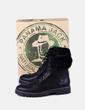 Botas napa negras con pelo Panama Jack