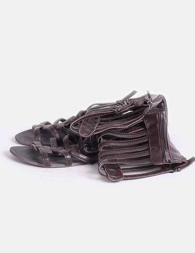 Sandalia romana marrón  Marypaz