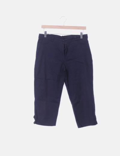 Pantalón pirata azul marino