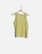 Camiseta crochet amarilla Frnch