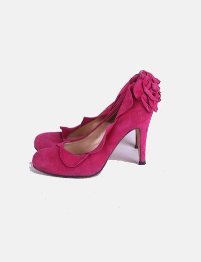 Zapatos ante fucsia